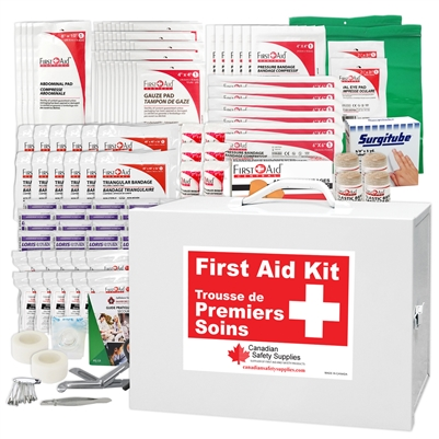 Alberta # 3 Regulation First Aid Kit customizable with YOUR LOGO!