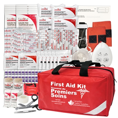 BC Level 1 Provincial Regulation First Aid Kit