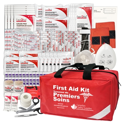 BC Level 2 and 3 Provincial First Aid Kit