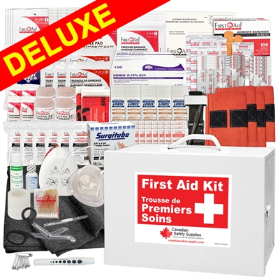 BC Regulation Plus Deluxe First Aid Station