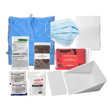 Biohazard Spill Clean-up Kit - Deluxe