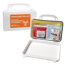 Biohazard Spill Clean-up Kit - Deluxe in Plastic Case