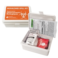 Biohazard Spill Clean-up Kit - Standard in Plastic Case