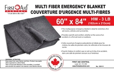 Multi-Fiber Emergency Survival Blanket