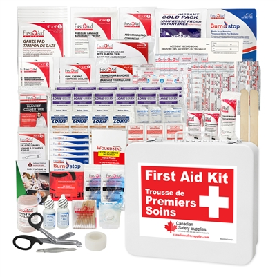BC Contractors First Aid Kit