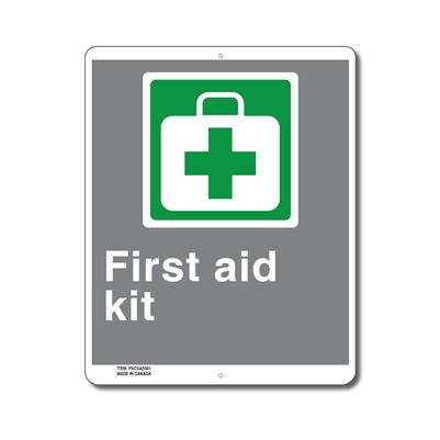 EMERGENCY FIRST AID KIT - CSA SIGN