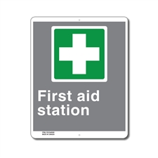 EMERGENCY FIRST AID STATION - CSA SIGN