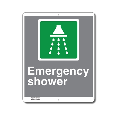 EMERGENCY SHOWER - CSA SIGN