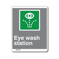 EMERGENCY EYE WASH STATION - CSA SIGN