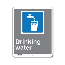 DRINKING WATER - CSA INFORMATION SIGN