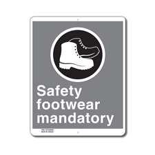 SAFETY FOOTWEAR MANDATORY - CSA SIGN