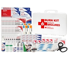 "Large Burn Kit (comes with Plastic Sign ""Burn Station"")"