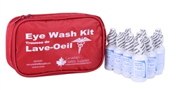 Eyewash First Aid Kit - Nylon Bag