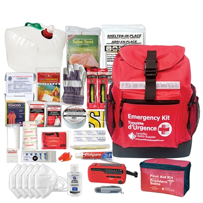 1 person emergency survival kit