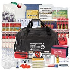 4 Person 72 Hour Emergency Disaster Kit - Deluxe