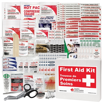Multipurpose First Aid Kit - Plastic Case
