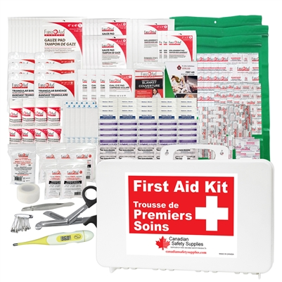 Daycare/School First Aid Kit - Deluxe