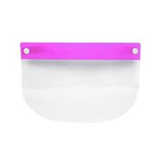 Face Shield Kids Plastic - Pink