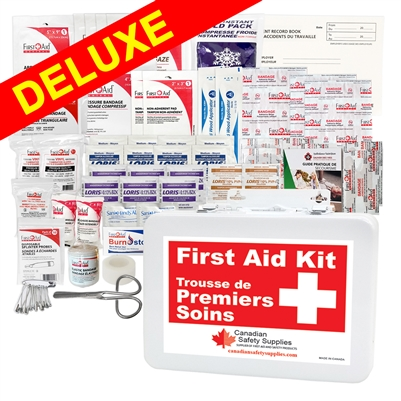 Ontario Section 8 Deluxe First Aid Kit 1-5 Employees