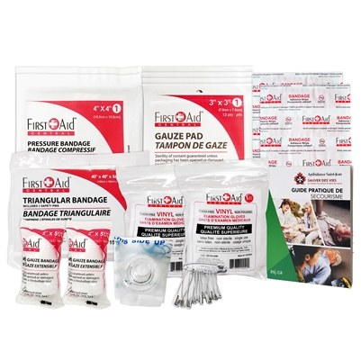 Ontario First Aid Kit 1-5 Employees Refill