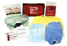 Durable Ebola/Pandemic Personal Isolation Kit for Home or Car