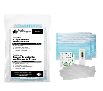 Family/Office 5 Day Pandemic Protection Kit