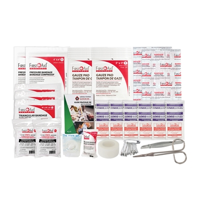 Prince Edward Island Level 1 Regulation First Aid Kit - Refill