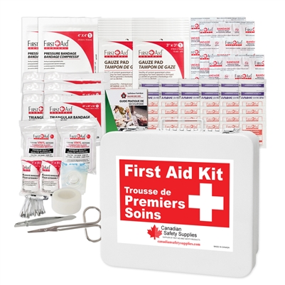 Prince Edward Island Level 2 Minimum Regulation First Aid Kit for 5 - 15 employees