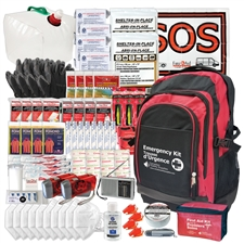 72 Hour Disaster Survival Kit Backpack 4 Person