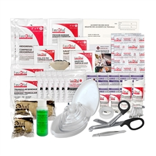 Saskatchewan 1 - 9 Employees First Aid Kit Min. Requirements Refill