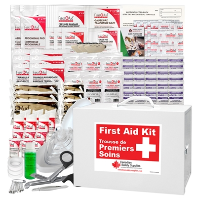 Saskatchewan 40+ Employees First Aid Kit Nylon