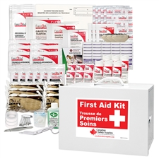 Saskatchewan 40+ Employees First Aid Kit Metal
