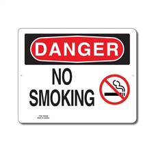 NO SMOKING - DANGER SIGN