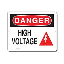HIGH VOLTAGE - DANGER SIGN
