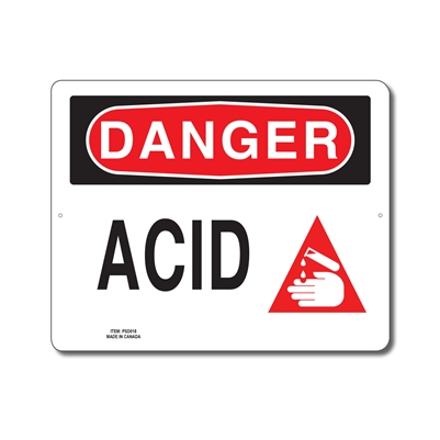 ACID - DANGER SIGN