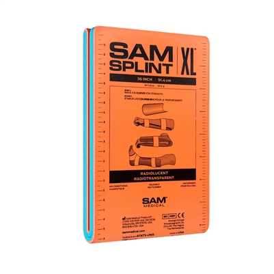 "SAM Splint 36"" XL Flat- SAM Medical"
