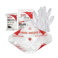 First Aid and CPR training packs