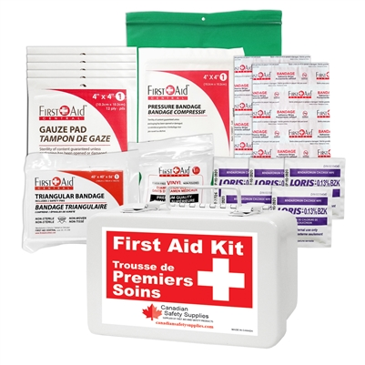 Yukon Regulation Personal First Aid Kit Nylon Bag