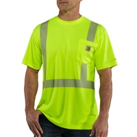 Carhartt Men's Force® Class 2 High-Visibility Short Sleeve T-Shirt 100495