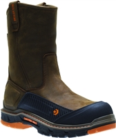 Men's Wolverine Overpass Pull-On Carbon Toe Wellington Boots 10708