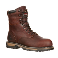 "Rocky Men's 8"" IronClad Steel Toe Work Boot"