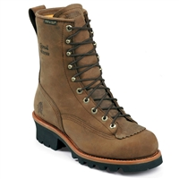 "Chippewa 8"" Bay Apache Insulated Waterproof Steel Toe Logger 73103"
