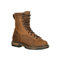 "Rocky Men's 8"" IronClad Waterproof Steel Toe Work Boot 6698"