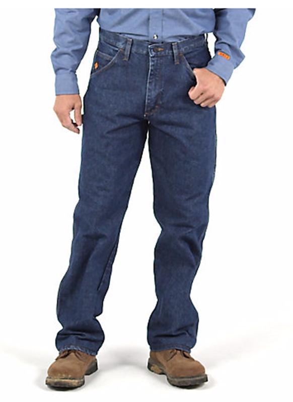 b0f2b31e Wrangler Men's FR Carpenter Jeans Larger Photo