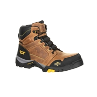 "Georgia Boot Men's 6"" Amplitude Waterproof Composite Toe Hiker Work Boot GB00129"