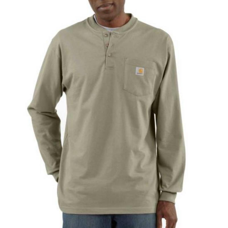 e6281ba43b1830 Carhartt>Men's Workwear Long Sleeve Henley T-Shirt> Olean Rochester ...