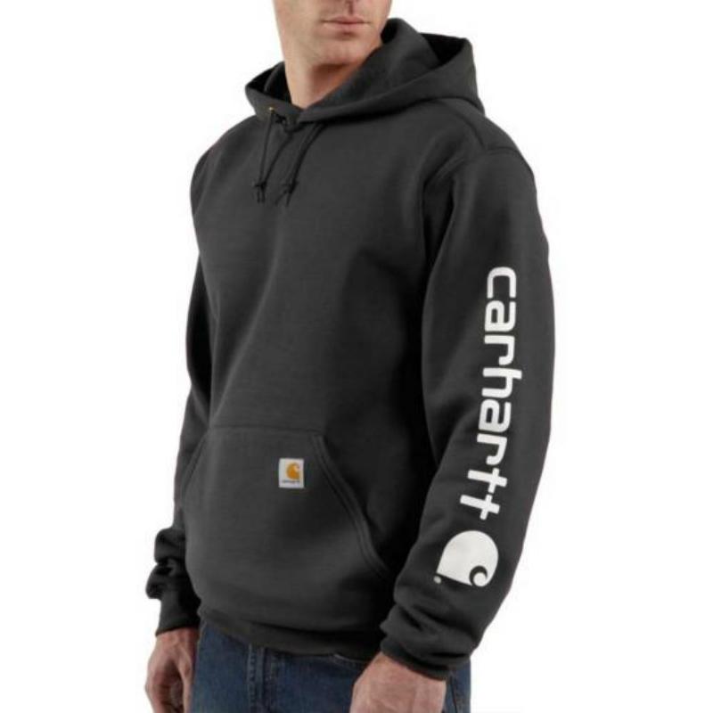 3cca61bb0 Carhartt> Men's Midweight Hooded Logo Sweatshirt > Olean Rochester ...