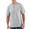 Carhartt Men's Short Sleeve Workwear Henley K84