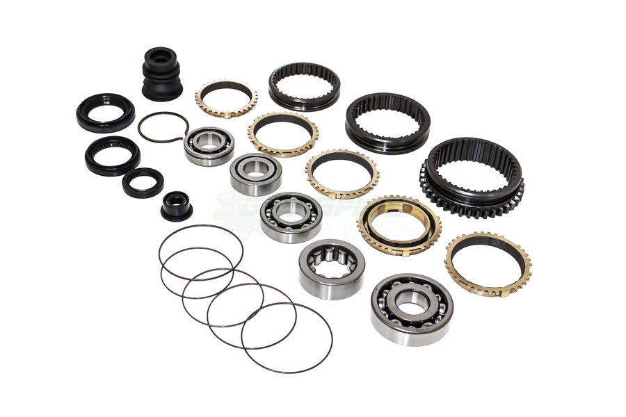Master Bearing Seal Sleeve Carbon Synchro Kit For A 92 93 Integra GSR YS1 Transmission