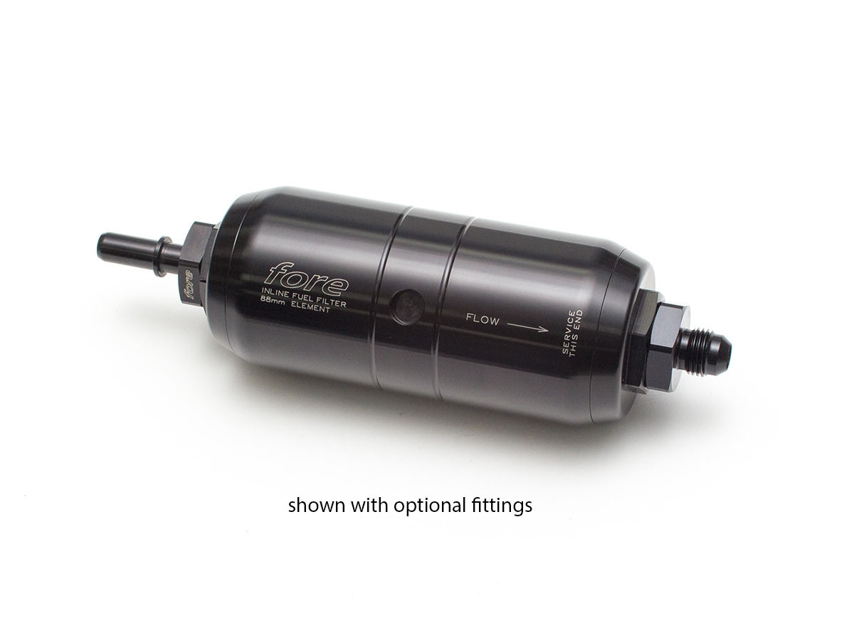 Automotive In Line Fuel Filters 88mm Inline Filter